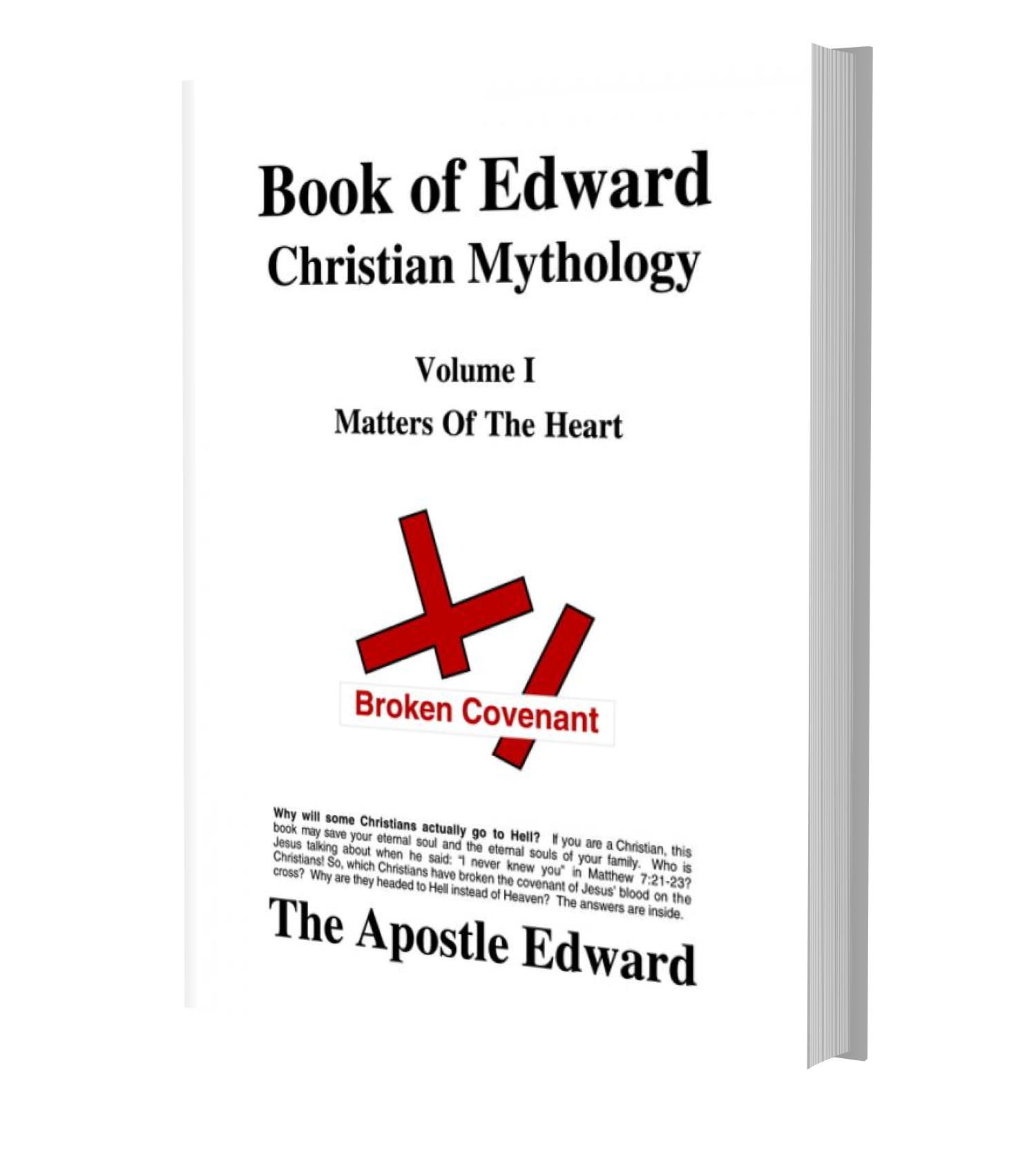 Image of Apostle Edward's Book of Edward Volume I