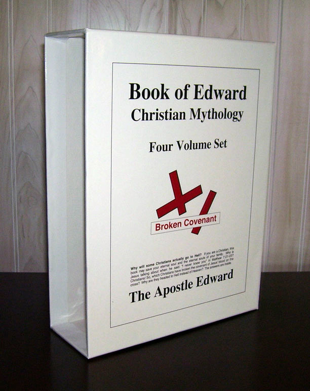 apostle edward's book of edward slipcase image page